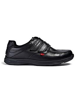 Kickers Reasan Strap Leather Shoe