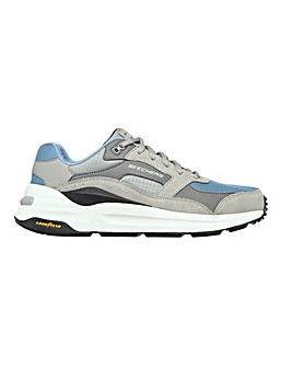 Skechers Global Lace Up Jogger Shoe