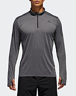 adidas Long Sleeved Running T-Shirt