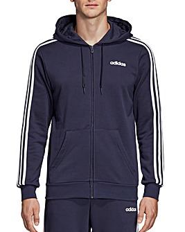 adidas Essentials 3 Stripe Full Zip Hoody