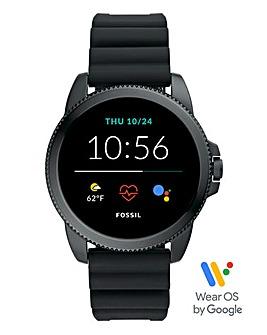 Fossil Gen 5E Smartwatch - Black Silicone