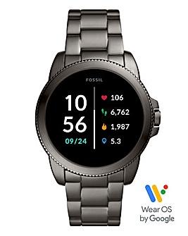 Fossil Gen 5E Smartwatch - Smoke Stainless Steel