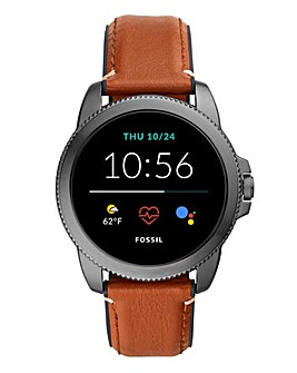Fossil Gen 5E Smartwatch - Brown Leather