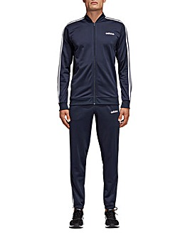 adidas Back to Basics 3 Stripe Tracksuit