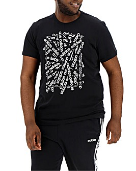 adidas Linear Scatter T-Shirt