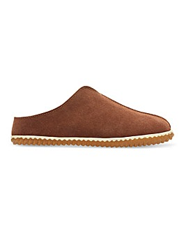 Clarks Homestyle Suede Mule Slippers