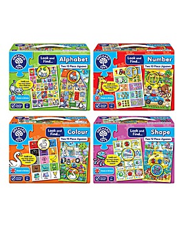 Look and Find Puzzles Complete Set