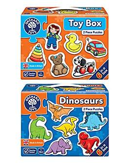 Toys and Dinosaurs Puzzles
