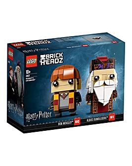 LEGO Brickheadz - Ron & Dumbledore