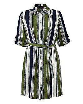 AX Paris Stripe Tunic Blouse