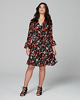 Alice & You by Glamorous Print Dress