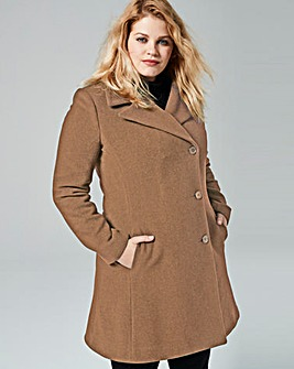 Helene Berman Fit & Flare Coat
