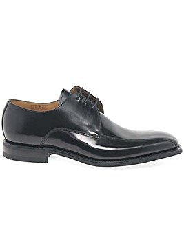 Loake 261B Mens Black Leather Derby Shoe