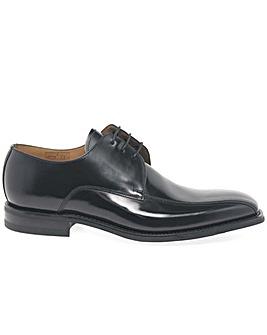 Loake 261B Mens Black Leather Derby Shoe