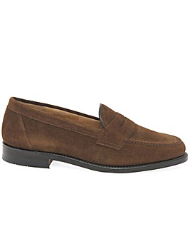 Loake Eton Mens Suede Formal Loafers