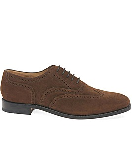 Loake Luke Suede Wide Fit Shoes