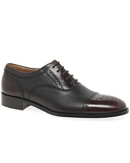 Loake Woodstock Wide Fit Half Brogues
