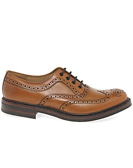 Loake Edward Mens Wide Fit Brogues