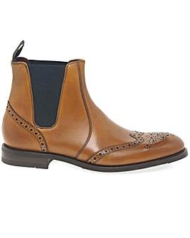 Loake Hoskins Mens Brogue Chelsea Boots