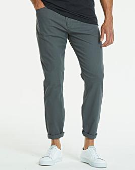 Jacamo Slim Gaberdine Jeans 35in
