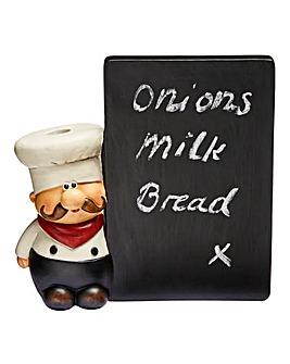 Chef Chalk Memo Board