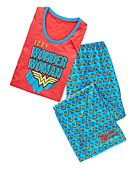 Personalised Wonder Woman Pyjamas