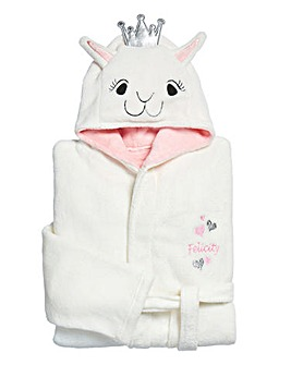 Personalised Llama Dressing Gown