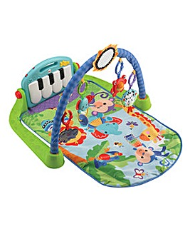 Fisher-Price Kick & Play Piano Gym- Blue