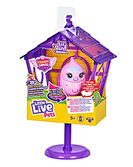 Little Live Pets Tweet Talking Bird with Cage