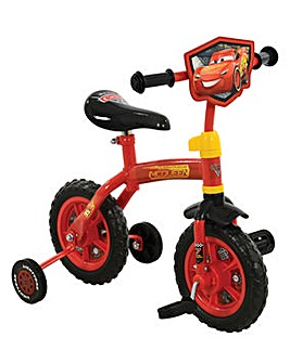 "Disney Cars 2in1 10"" Training Bike"