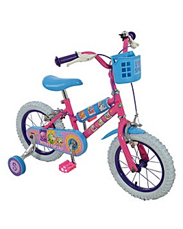 Shopkins 14inch Bike with 6 Shopkins