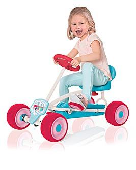 Hauck Pink Mini Go Kart