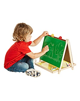 Double Sided Wooden Drawing Board