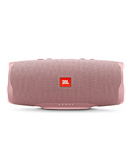 JBL Charge4 Portable Bluetooth Water Proof Speaker Pink