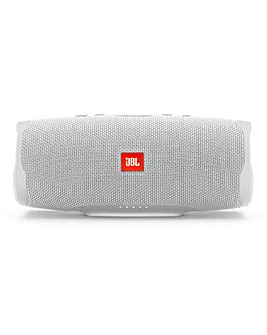 JBL Charge4 Portable Bluetooth Water Proof Speaker White