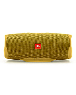 JBL Charge4 Bluetooth Speaker Yellow