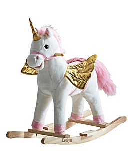 Personalised Rocking Unicorn with Sounds