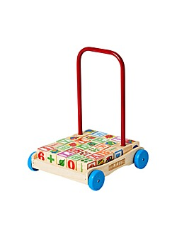 Personalised Trolley & Alphabet Blocks