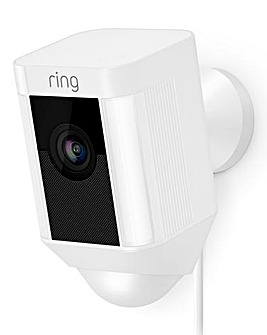 Ring Hardwired Spotlight Cam White