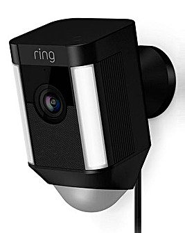 Ring Hardwired Spotlight Cam Black