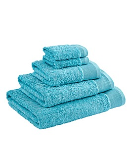 Egyptian Cotton Towel Range Aqua