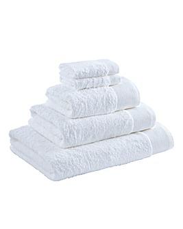 Egyptian Cotton Towel Range White