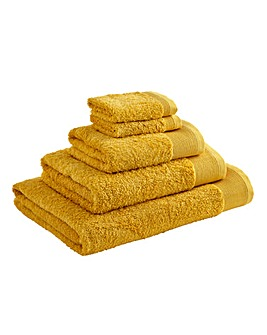 Egyptian Cotton Towel Range- Ochre