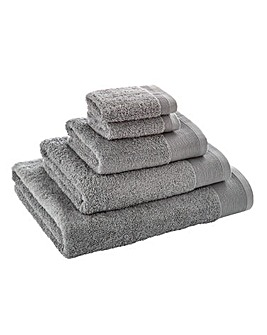 Egyptian Cotton Towel Range Cool Grey