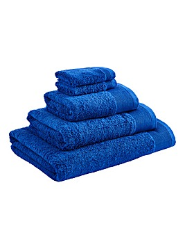Egyptian Cotton Towel Range Royal Blue