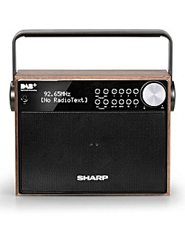 Sharp DAB+ FM Portable Radio