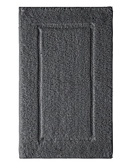Supersoft Snuggle Bath Mats- Gunmetal