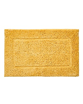 Supersoft Snuggle Bath Mats- Mustard
