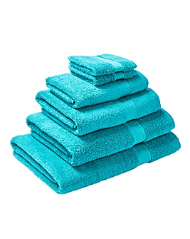 Supersoft Snuggle Towel Range- Teal
