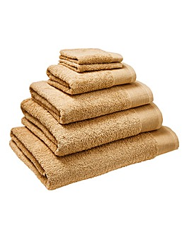Egyptian Cotton Towel Range- Sand